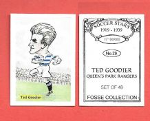 Queens Park Rangers Ted Goodier 29 (FC)